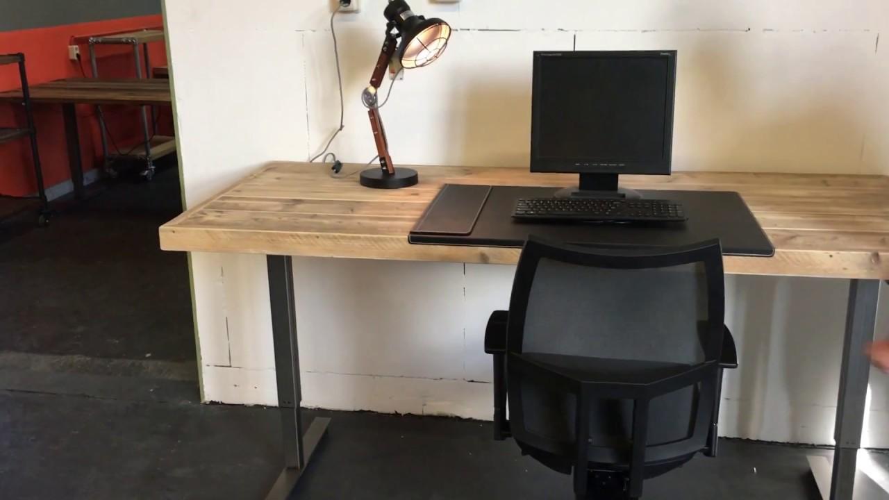 Ergonomisch verstelbaar bureau kantoor youtube