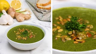 Soothing Green Soup To Fight Cold Symptoms