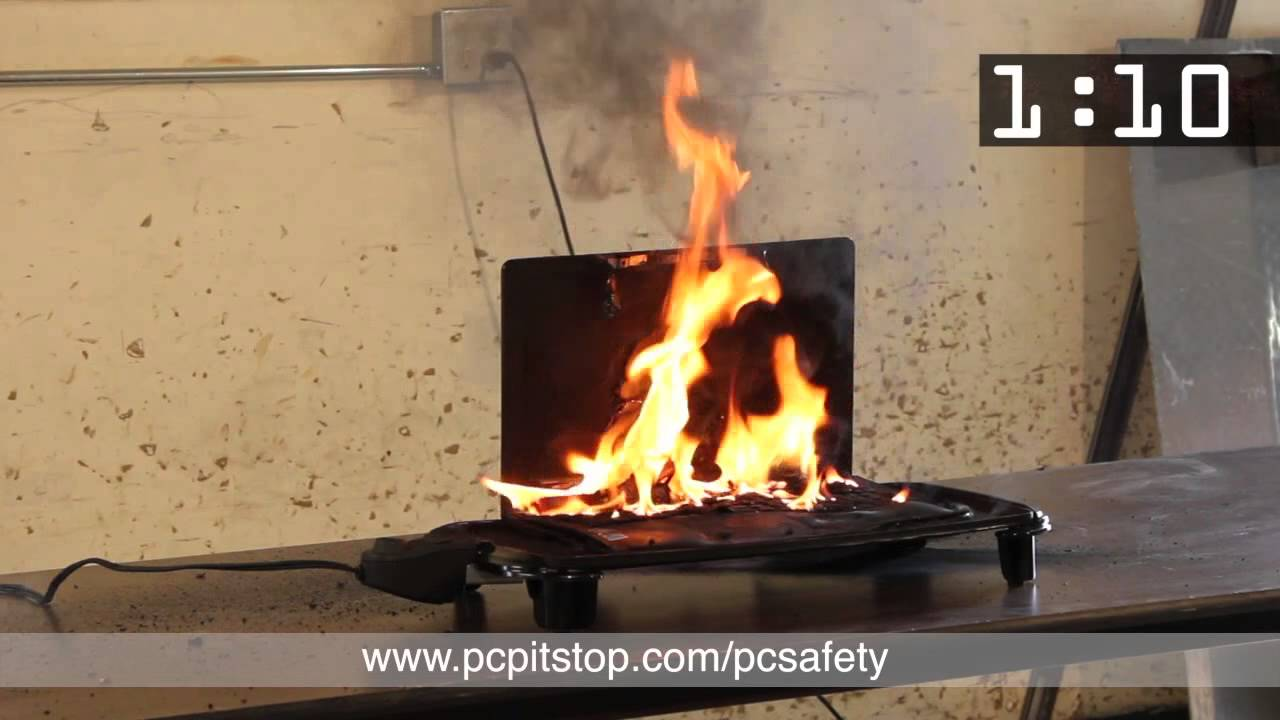 Lithium Ion Battery >> Exploding Laptop - Lithium Ion Battery - YouTube