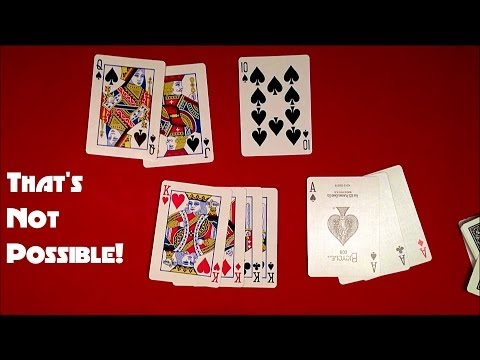 That's Not Possible Card Trick REVEALED!