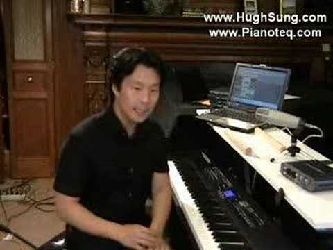 Pianist Hugh Sung demonstrates Pianoteq Part 1 of 2