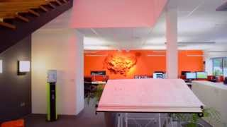 TRILUX UK: Light@Work - Office Flythrough