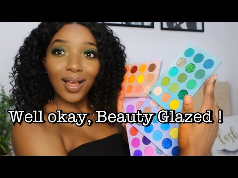 60 Shades in 1 Palette?...Lets talk || Beauty Glazed Meet Your Match Color Board Palette