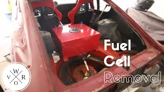 fuel cell cleanup and removal 1jz 240z