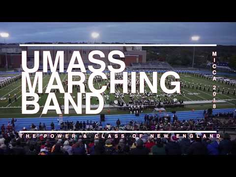 UMass Marching Band MICCA Evening Performance 2018