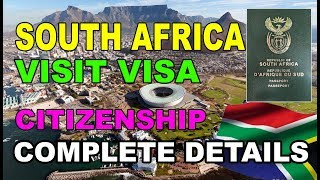 South Africa Visit Visa [Citizenship] [Business Visa] in Urdu/Hindi 2018 By Premier Visa Consultancy
