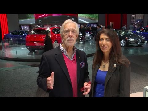 Lauren Fix & Paul Brian - 2017 North American International Auto Show in Detroit