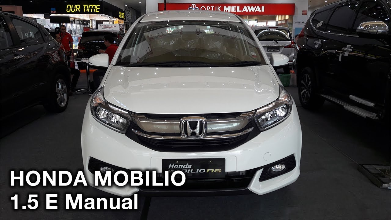 Honda Mobilio 1 5 E Manual 2017 Exterior And Interior Youtube