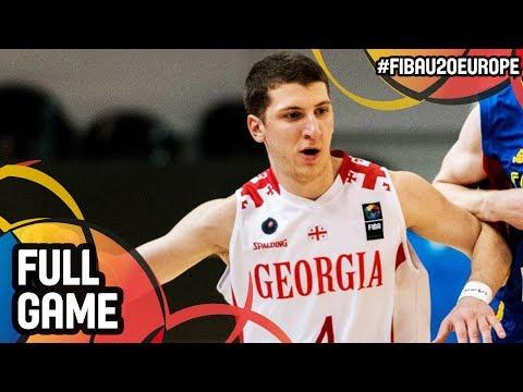 Malta v Georgia - Full Game - FIBA U20 European Championship 2017 - DIV B