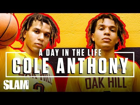 Cole Anthony Came to Oak Hill for GREATNESS ⭐️ | SLAM Day in the Life