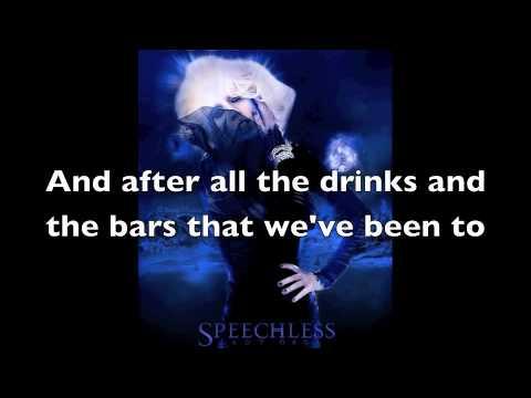 Speechless - Lady Gaga - Lyrics Song