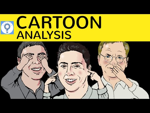 cartoon analysis how to write a cartoon analysis description cartoons analysieren in englisch - Kommunikationsprufung Englisch Beispiel