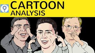 Cartoon Analysis - How to write a cartoon analysis / description - Cartoons analysieren in Englisch