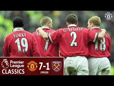 Premier League Classic | Manchester United 7-1 West Ham | 1999/00