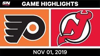 NHL Highlights   Flyers vs Devils – Nov. 1, 2019