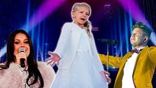 МИЛАНА на сцене с ОКСАНОЙ ФЕДОРОВОЙ и МИТЕЙ ФОМИНЫМ супер концерт для детей