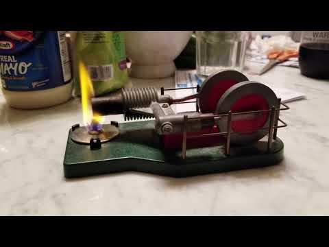 Phoenix Arizona Solar Engines Stirling Engine Running