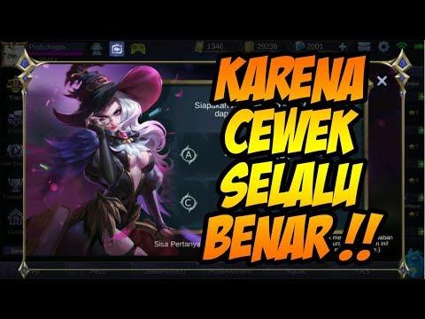 KUIS MLBB Ibarat Cewek PMS = SELALU BENAR | Mobile Legends Indonesia