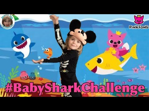 PinkFong #BabySharkChallenge Baby Shark Cover Dance Contest Challenge with Mickey Mouse Pinkfong!
