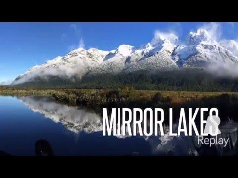Milford Sound June 2015 New Zealand Fiordland National Park Mirror Lakes
