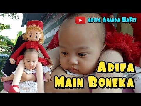 Mainan Bayi | Bermain Ditemani Boneka Bayi Lucu | Adifa Ananda Hafiz