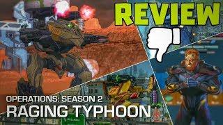 Operation Season 2: Raging Typhoon Review - Definitely Not Worth it | War Robots