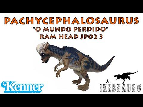 "Pachycephalosaurus ""Ram Head"" The Lost World Kenner"