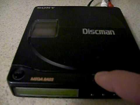 Sony D9 Discman - YouTube  Sony D9 Discman...
