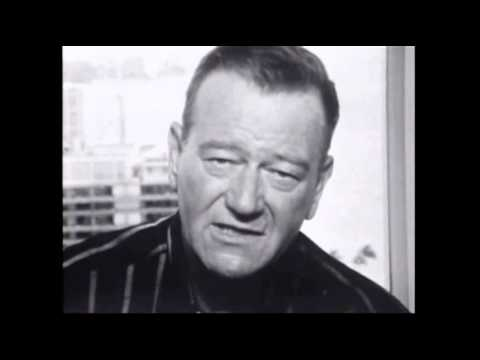 John Wayne - Interview (1964)