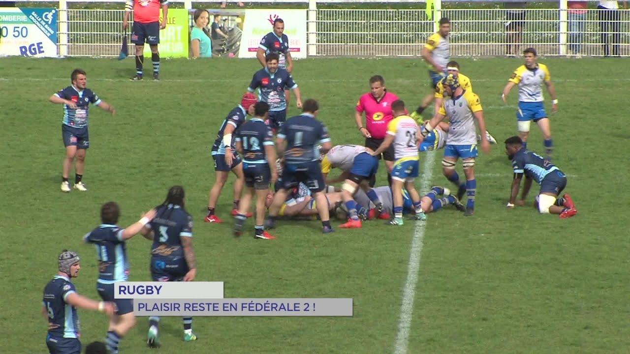 Yvelines | Rugby : Plaisir reste en Fédérale 2 !