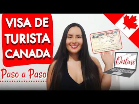 Visa De Turista A CANADA (paso A Paso Con Cartas)