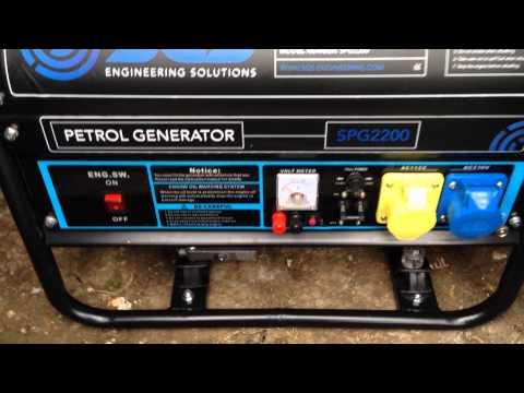 SPG2200 Petrol Generator Review Part1