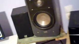 Polk S20 Bass Test