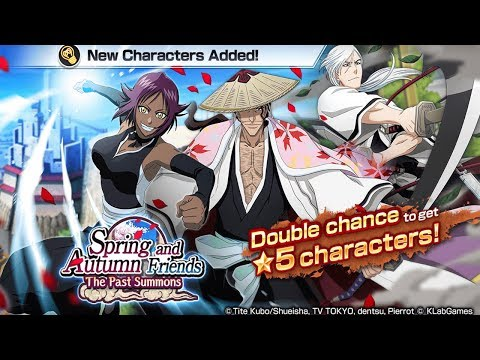 Bleach Brave Souls: 500 orbs!!! Spring and Autumn freinds Summons!!! #BleachMonstrão - Omega Play