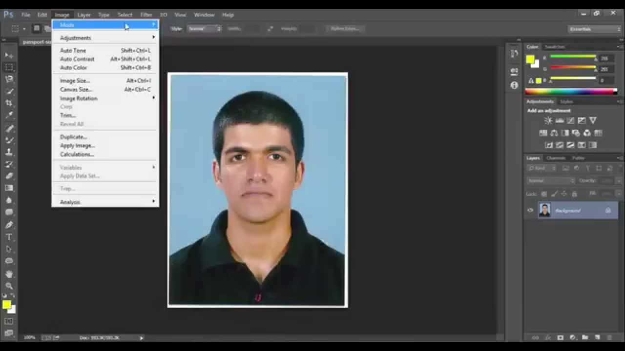 convert photo image to 8 bit | Size under 15KB