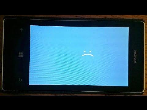 Nokia Lumia Blue Screen Error Fix In 520 535 630 640 640