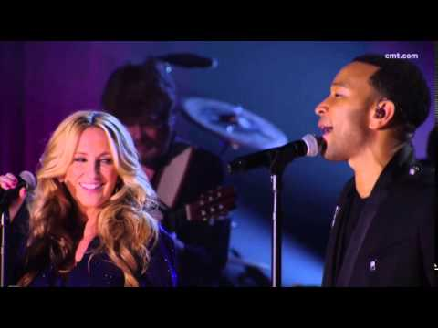 "John Legend & LeeAnn Womack sing ""I May Hate Myself In The Morning"""
