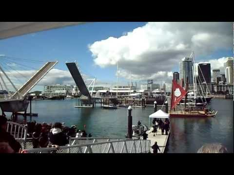 Waku Tapu - leaving Auckland Viaduct  for Rapanui ( 10000 Kilometers )