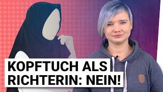 """Franziska Schreiber: """"Warum muslimische Richterinnen Kopftuch ablegen müssen!"""""""