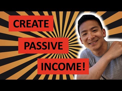 How To Create Passive Income With No Money - Your Best Option!