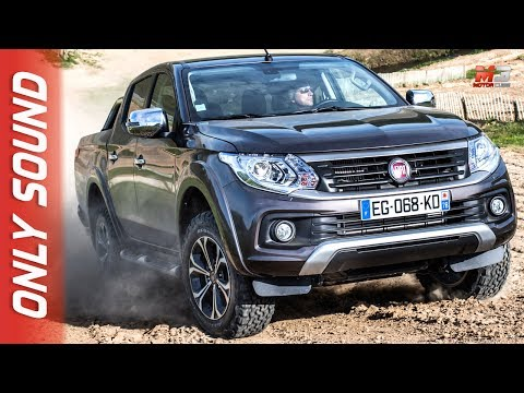 NEW FIAT FULLBACK 2017 OFF ROAD FIRST TEST DRIVE ONLY SOUND