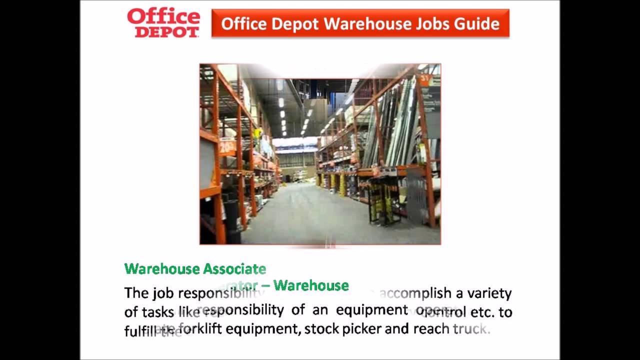 Office Depot Warehouse Jobs Naturalrugsstore