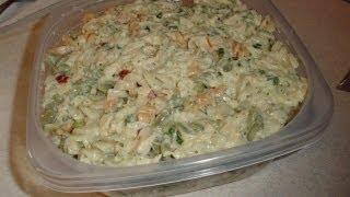 Caesar Tuna Noodle Salad