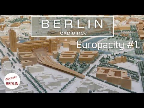 [4K] Berlin Europacity #1 - new buildings in the center of Berlin - Berlin Explained