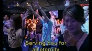 "City Harvest Church on 4 July 2009 ""Hati Hamba (Heart Of A Servant)"" Song Leader: Alison Yap Author: Sari Simorangkir STANDING IN AWE OF YOUR GRACE ..."