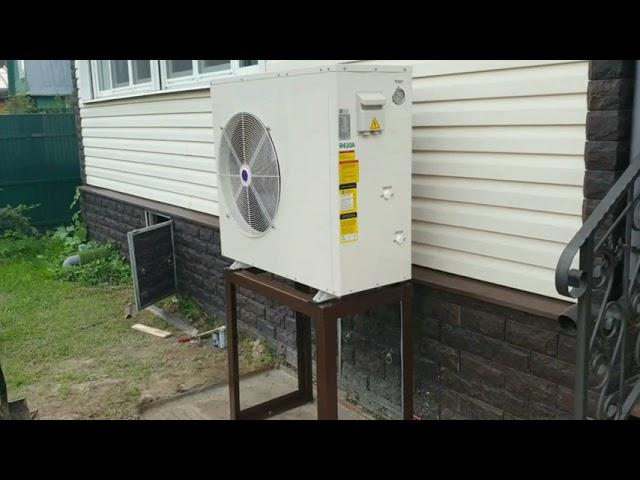 Небольшие тепловые насосы для домов до 100 кв.м. Лето 2021