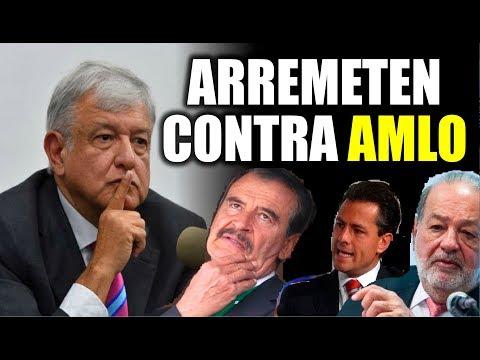 Ultimas noticias de MEXICO, ARREMETIDA CONTRA AMLO 30/10/2018