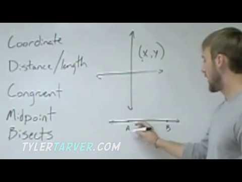Geometry: 1-2 Measuring & Constructing Segments