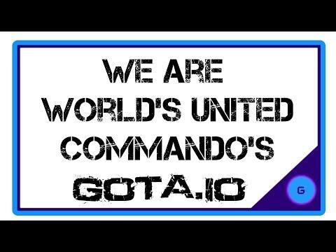 We Are World's United Commando's Gota.io/web  ( Gameplay )