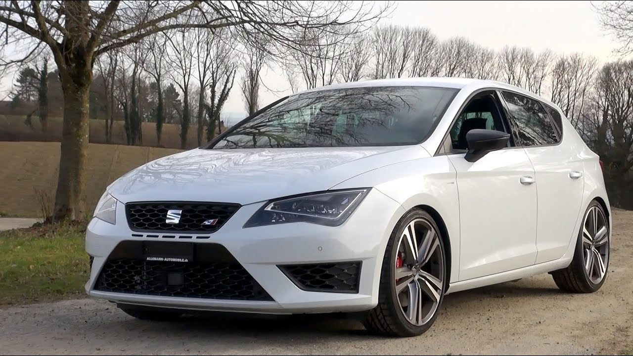 2015 seat leon cupra 355 hp test drive youtube. Black Bedroom Furniture Sets. Home Design Ideas